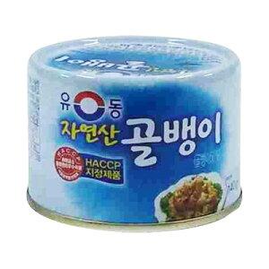 『ユドン』自然産つぶ貝缶詰(小・140g) 缶詰 韓国料理 韓国食材 韓国食品マラソン ポイントアップ祭