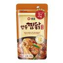 『センピョ』安東チムタックヤンニョム|鶏肉の醤油煮込みソース(210g・3〜4人前) sempio 鶏肉醤油たれ 炒め物 煮物 …