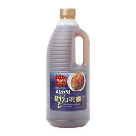 『CJ』ハソンジョン イワシエキス|いわし液状だし(2.5kg)韓国キムチ 韓国調味料 韓国料理 韓国食材 韓国食品\キムチ以外にも様々な料理に塩、醤油、調味料の代わりに/マラソン ポイントアップ祭