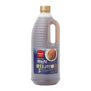 『CJ』ハソンジョン イワシエキス|いわし液状だし(2.5kg)韓国キムチ 韓国調味料 韓国料理 韓国食材 韓国食品マラソン ポイントアップ祭