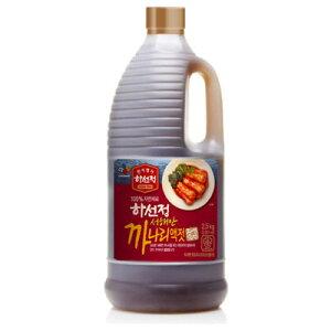 『CJ』ハソンジョン カナリエキス|いかなご液状だし(2.5kg)韓国キムチ 韓国調味料 韓国料理 韓国食材 韓国食品マラソン ポイントアップ祭