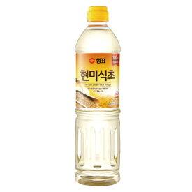 『センピョ』玄米酢(900ml)調味酢 韓国調味料 韓国食材 韓国料理 韓国食品マラソン ポイントアップ祭