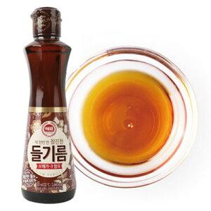 荏胡麻油『ヘピョ』えごま油(320ml)|エゴマ油■韓国韓国調味料 韓国料理 韓国食材 韓国食品 マラソン ポイントアップ祭