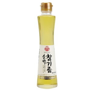 『オットギ』純白ごま油(200ml)プレミアム 生ゴマ油ごま油 韓国調味料 韓国料理 韓国食材 韓国食品マラソン ポイントアップ祭