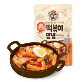 『CJ』ペクソルトッポギソース(150g)トッポッキ たれ ヤンニョム 韓国調味料 韓国料理 韓国食材 韓国食品\お餅と炒めるだけで、手軽にトッポッキが楽しめます/マラソン ポイントアップ祭