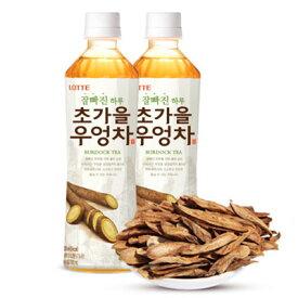 『LOTTE』ゴボウ茶(500ml)ダイエット ロッテ 韓国茶 韓国お茶 韓国飲料 韓国飲み物 韓国ドリンクマラソン ポイントアップ祭