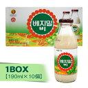『ション食品』ベジミルB(瓶)1BOX(=190ml×10本) 豆乳 甘い 韓国飲料 韓国飲み物 韓国ドリンク 韓国食品マラソン ポイ…