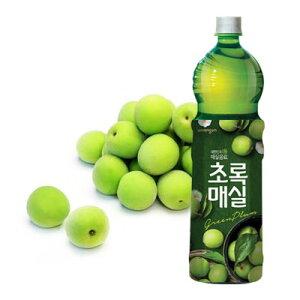 『ウンジン』 チョロックメシル | 梅ジュース(1.5L×1本・PET) 青梅 健康飲料 食後飲料 韓国ドリンク 韓国飲み物 韓国食品マラソン ポイントアップ祭