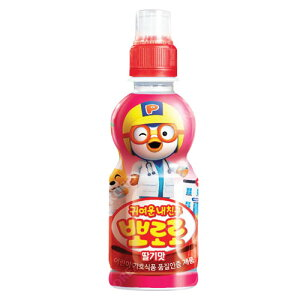 『paldo』ポロロ ジュース(いちご味×235ml) | お子様向け飲料韓国飲料 韓国ドリンク 韓国飲み物マラソン ポイントアップ祭