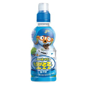 『paldo』ポロロ ジュース(ミルク味×235ml)   お子様向け飲料韓国飲料 韓国ドリンク 韓国飲み物マラソン ポイントアップ祭