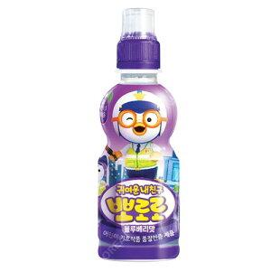 『paldo』ポロロ ジュース(ブルベリー味×235ml) | お子様向け飲料韓国飲料 韓国ドリンク 韓国飲み物マラソン ポイントアップ祭
