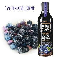 『センピョ』百年の間フッチョ黒酢ブラックベリー・ブルーベリー(900ml)