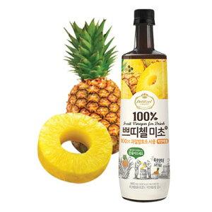 『CJ』プチジェル美酢(ミチョ)パイナップル味 900ml CJ ダイエット酢 健康酢 酢飲料 飲むお酢 健康飲料 韓国飲み物