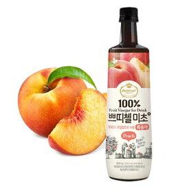 『CJ』プチジェル美酢(ミチョ)桃味 900ml CJ ダイエット酢 健康酢 酢飲料 飲むお酢 健康飲料 韓国飲み物
