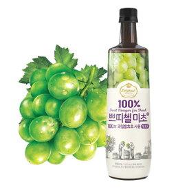 『CJ』プチジェル美酢(ミチョ)マスカット味 900ml CJ ダイエット酢 健康酢 酢飲料 飲むお酢 健康飲料 韓国飲み物