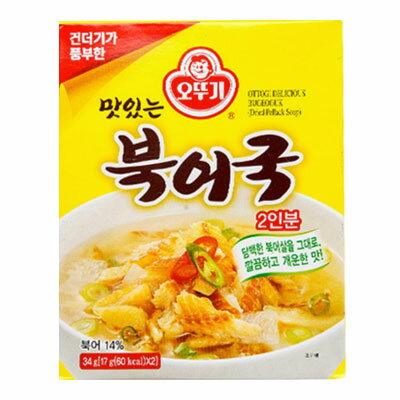 『オトギ』ブゴク|干しタラスープ(34g=17g×2個) オットギ インスタント ダイエット食品 韓国スープ 韓国料理 韓国食品\合成保存料無添加!さっぱりしたプゴクの風味をそのまま〜/マラソン ポイントアップ祭