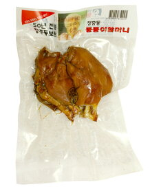 『匠忠洞』味付け豚足・半分切り(小・約300g) 豚肉 加工食品 韓国料理\ゼラチン質のプリプリ感と肉のシコシコの歯ごたえ!/マラソン ポイントアップ祭
