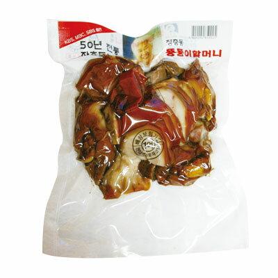 『匠忠洞』味付け豚足・スライス(400g) 豚肉 加工食品 韓国料理\ゼラチン質のプリプリ感と肉のシコシコの歯ごたえ! /マラソン ポイントアップ祭