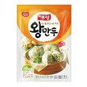 『東遠』開城 王餃子ワンマンドゥ (350g・5個入り) ギョーザ 肉餃子 餃子 冷凍食品 加工食品 韓国料理\プリプリの厚…