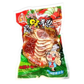 【冷蔵】『市場』味付けスライス豚足|スライスチョッパル(750g) 豚肉 豚足 加工食品 韓国料理マラソン ポイントアップ祭