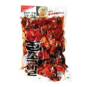 【冷蔵】『匠忠洞』激辛味付け豚足(700g) 豚肉 豚足 激辛 火足 カプサイシン 加工食品 韓国料理マラソン ポイントアップ祭