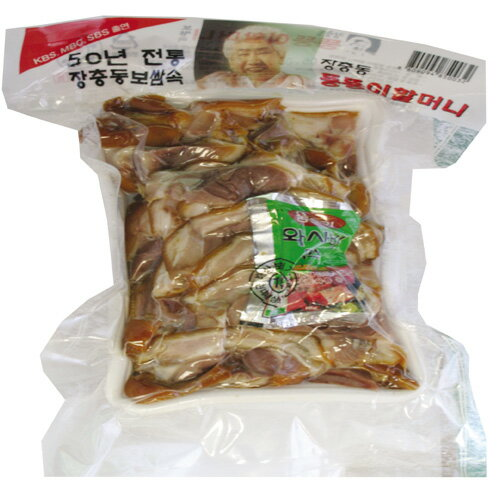 『匠忠洞』味付け豚足・スライス(800g) 豚肉 加工食品 韓国料理 マラソン ポイントアップ祭