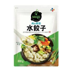 『CJ』bibigo水餃子・肉&野菜(800g・1個あたり約9g)ビビゴ 人気餃子 冷凍食品 加工食品 韓国餃子 韓国マンドゥマラソン ポイントアップ祭
