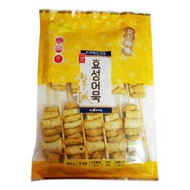 『ヒョソン』串おでん(800g・10個)オムク おでん さつま揚げ 串 加工食品 韓国料理 韓国食材 韓国食品\すでに串に通してあるので、鍋に入れるだけ!!/マラソン ポイントアップ祭