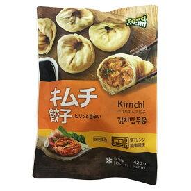 『名家』キムチ手餃子・辛口(420g) ギョーザ キムチ餃子 冷凍食品 加工食品 韓国料理\キムチ入りのさっぱりした韓国風の餃子/マラソン ポイントアップ祭