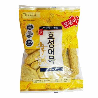 『ヒョソン』盛り合わせ おでん(400g・粉末スープ付) 加工食品 韓国料理 韓国食材 韓国食品\用途多様!!おでん鍋もよし、炒めるもよし/マラソン ポイントアップ祭