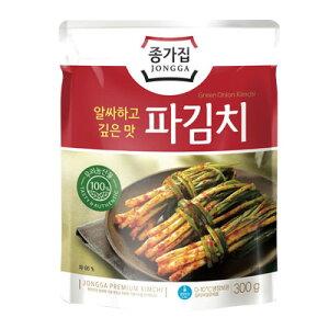 【冷蔵】『宗家』パキムチ|ネギキムチ(300g)■100%韓国産 小ねぎ使用チョンガ 韓国キムチ 韓国おかず 韓国料理 韓国食材 韓国食品マラソン ポイントアップ祭