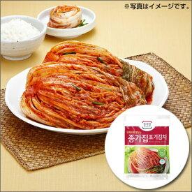 【冷蔵】『宗家』 白菜キムチ|ポギキムチ(1kg)チョンガ 白菜キムチ キムチ 韓国食材 韓国食品マラソン スーパーセール