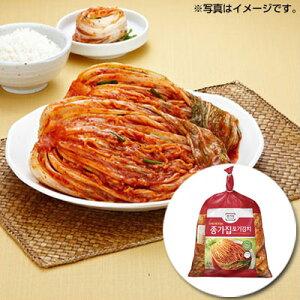 【パッケージリニューアル】『宗家』白菜キムチ|ポギキムチ(5kg)チョンガ 白菜キムチ 韓国キムチ 韓国食材 韓国料理 韓国おかず 韓国食品\ほんのり甘くて、ちょっぴり辛くて、甘辛いキ
