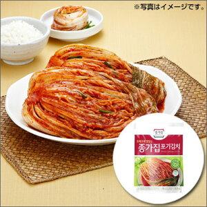 【冷蔵】【当店おすすめ】『宗家』白菜 ポギキムチ(500g)チョンガ 白菜キムチ 韓国キムチ 韓国食材 韓国料理 韓国食品マラソン ポイントアップ祭
