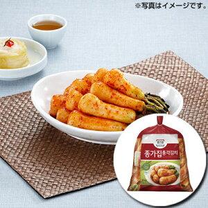 【冷蔵】『宗家』チョンガクキムチ|大根キムチ(5kg)チョンガ 韓国キムチ 韓国おかず 韓国料理 韓国食材 韓国食品 マラソン ポイントアップ祭