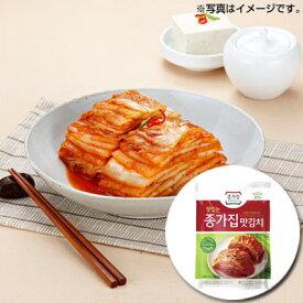 【当店おすすめ】『宗家』マッキムチ|切り白菜キムチ・一口サイズ(1kg)チョンガ 白菜キムチ 一口キムチ 韓国キムチ 韓国食材 韓国食品\ほんのり甘くて、ちょっぴり辛くて、ごはんがすすむ!/マラソン ポイントアップ祭