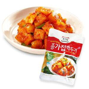 [冷蔵]『宗家』カクテキ|大根サイコロキムチ(500g)チョンガ 大根キムチ 韓国キムチ 韓国食材 韓国食品マラソン ポイントアップ祭