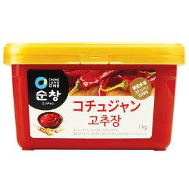 『スンチャン』コチュジャン|辛みそ(1kg) 淳昌 ゴチュジャン 清浄園 チョンジョンウォン 韓国調味料 韓国料理 韓国食材 韓国食品スーパーセール ポイントアップ祭 マラソン