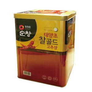 『スンチャン』コチュジャン|辛みそ(17kg・業務用) 淳昌 ゴチュジャン 韓国調味料 韓国料理 韓国食材 韓国食品マラソン ポイントアップ祭