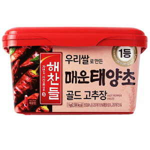 『ヘチャンドル』辛口 コチュジャン|辛みそ(1kg) ゴチュジャン 韓国調味料 韓国料理 韓国食材 韓国食品スーパーセール ポイントアップ祭 マラソン