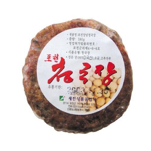 『ポチョン』チョングッジャン|韓国納豆(180g)チョングッチャン 韓国調味料 韓国料理 韓国食材 韓国食品 マラソン ポイントアップ祭