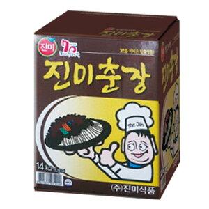 『珍味』チュンジャン|ジャージャーソース(14kg・業務用) じゃじゃ麺 チャジャン 黒味噌 韓国調味料 韓国料理 韓国食材 韓国食品マラソン ポイントアップ祭