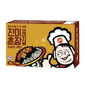 『珍味』チュンジャン|ジャージャーソース(300g) じゃじゃ麺 チャジャン 黒味噌 韓国調味料 韓国料理 韓国食材 韓国食品マラソン ポイントアップ祭