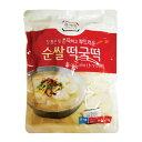 『宗家』トック餅|料理用餅(1kg) お餅 煮物 スープ 韓国料理 韓国食材 韓国食品\韓国式のお雑煮用の餅、もちもちでおいしい〜/マラソン ポイントアップ祭