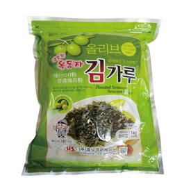 『玉童子』オリーブ油 味付けきざみのり(1kg) 業務用 大容量 ビビンパ きざみのり 刻み海苔 味付けのり 韓国海苔マラソン ポイントアップ祭