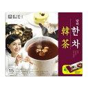 『ダムト』漢茶(15g×15包・粉末スティック状)漢方茶 粉末茶 伝統茶 健康茶 韓国お茶 韓国飲料 韓国食品\生葛、生姜…