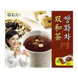 『ダムト』サンファ茶(15g×15包・粉末スティック状)粉末茶 伝統茶 健康茶 韓国お茶 韓国飲料 韓国食品 風邪予防対策 \体を温めて体力を増進!疲労回復やストレス緩和にも/スーパーセール ポイントアップ祭 マラソン