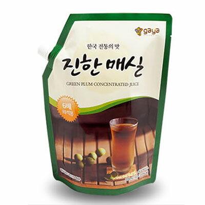 『ガヤF&D』梅エキス(1kg・6倍濃縮タイプ)原液 伝統茶 伝統飲料 韓国飲み物 韓国飲料 韓国ドリンク 韓国食材 韓国食品 \梅とりんごを濃縮したエキスです/スーパーセール ポイントアップ祭