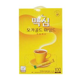 『東西』マキシム モカゴールド コーヒー ミックス (100包) インスタントコーヒー 韓国コーヒー 韓国飲料 韓国飲み物 韓国食品 オススメスーパーセール ポイントアップ祭 マラソン