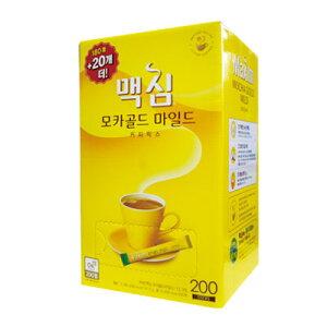 『東西』Maxim モカゴールド コーヒー ミックス(180包+20包・ 業務用) ドンソ マキシム インスタントコーヒー 韓国コーヒー 韓国飲料 韓国飲み物 韓国食品マラソン ポイントアップ祭